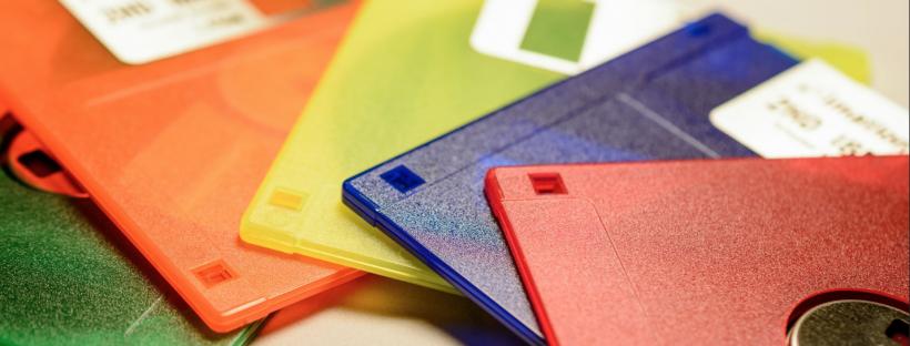 Regenbogen Disketten